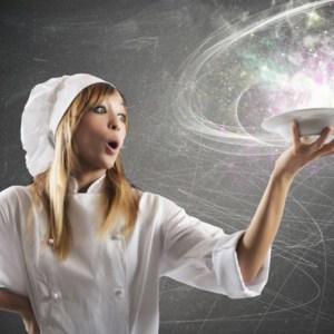 kitchen magician female chef