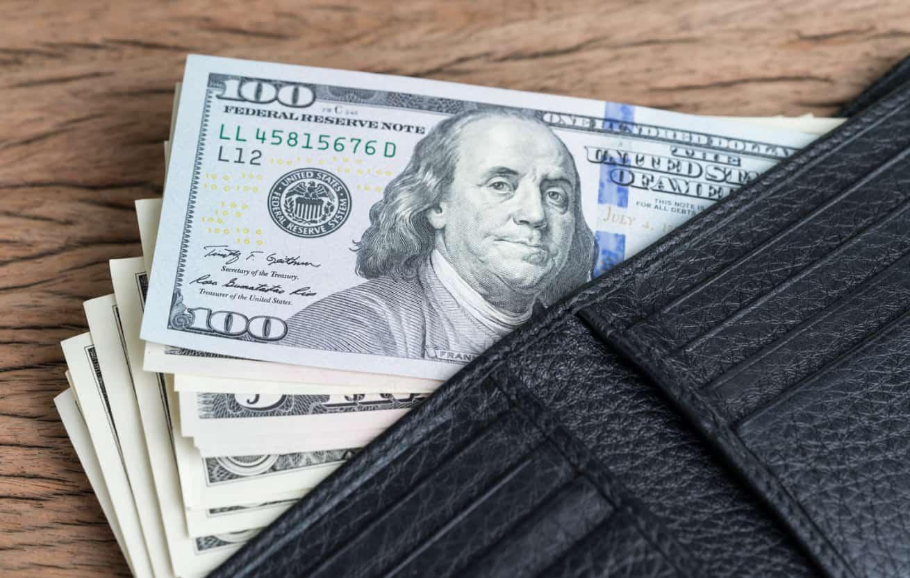 money in wallet USD