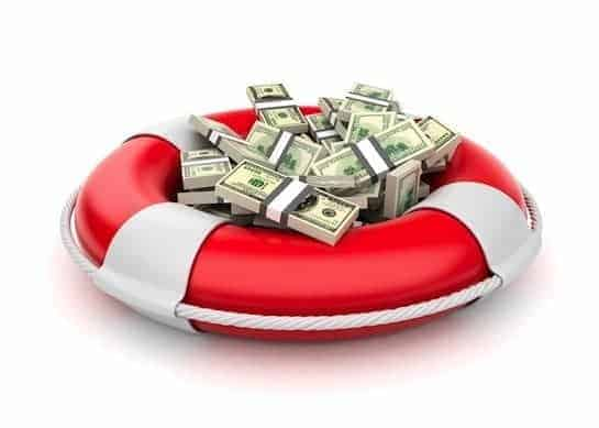 money lifesaver rescue