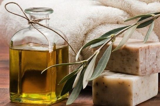 olive oil spa soap cosmetics