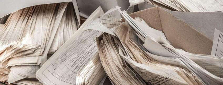 papers tax records im a big mess
