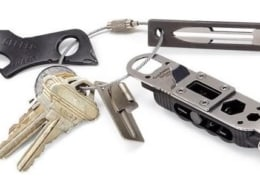 keychain with tools