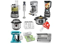 collage of small appliances