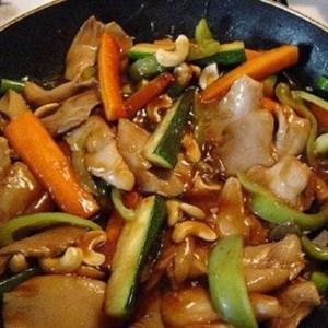 stir fry in cast iron skillet