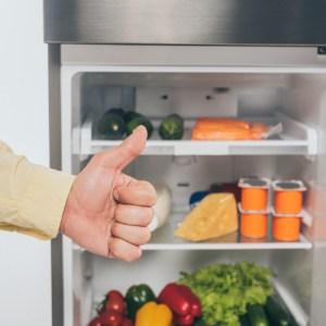 Kitchen thumbs up